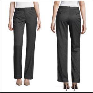 Modern fit gray dress pants.